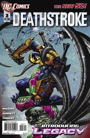 Deathstroke # 3 Issues V2 (2011 - 2013) - Reboot 2011
