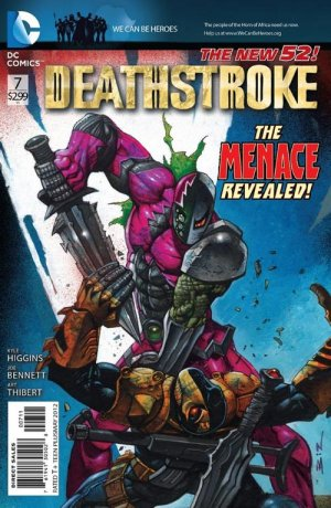 Deathstroke # 7 Issues V2 (2011 - 2013) - Reboot 2011