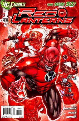 Red Lanterns édition Issues V1 (2011 - 2015)