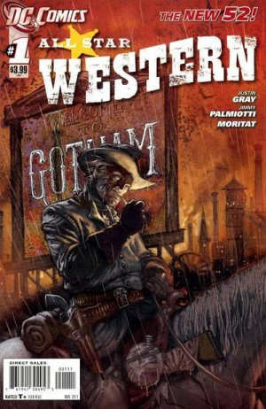 All Star Western édition Issues V3 (2011 - 2014) - Reboot 2011