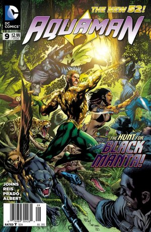 Aquaman # 9 Issues V7 (2011 - 2016) - The New 52