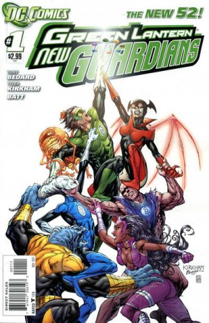 Green Lantern - New Guardians édition Issues V1 (2011 - 2015) - Reboot 2011