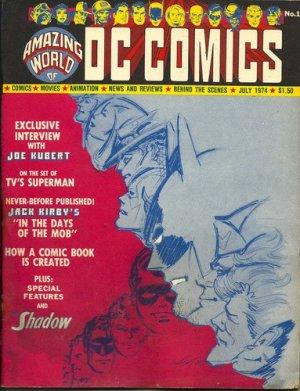 Amazing World of DC Comics édition Fan Magazine (1974 - 1978)