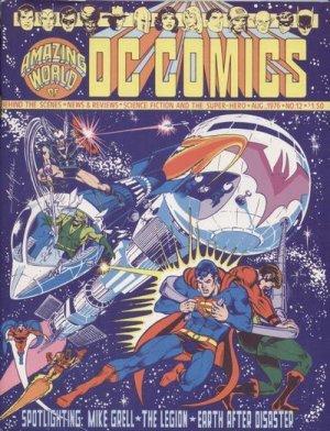Amazing World of DC Comics # 12 Fan Magazine (1974 - 1978)