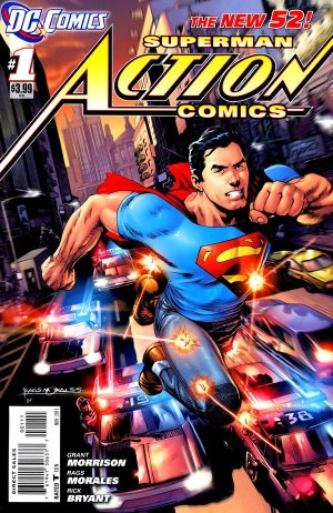 Action Comics édition Issues V2 (2011 - 2016)
