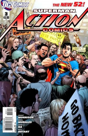 Action Comics # 3 Issues V2 (2011 - 2016)