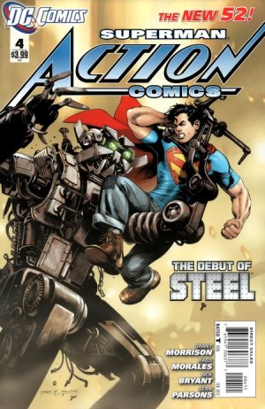 Action Comics # 4 Issues V2 (2011 - 2016)