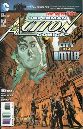 Action Comics # 7 Issues V2 (2011 - 2016)