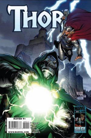 Thor # 605 Issues V1 - Suite (2009 à 2011)