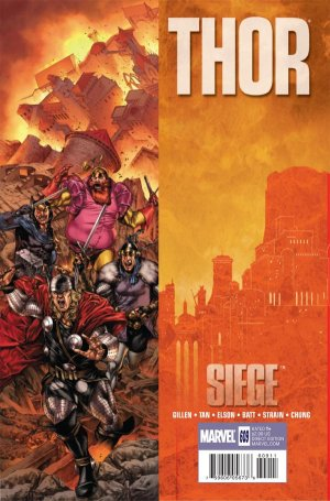 Thor # 609 Issues V1 - Suite (2009 à 2011)