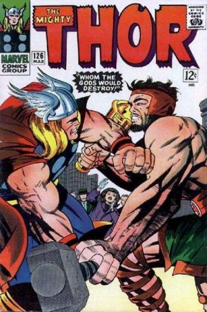 Thor # 126 Issues V1 (1966 à 1996)