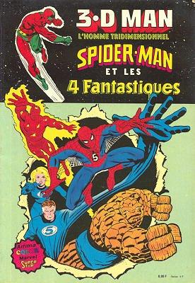 3.D Man, Spider-Man et les 4 Fantastiques édition simple
