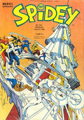 Spidey édition Kiosque (1989)