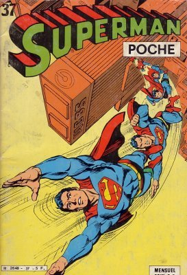 Superman Poche édition Kiosque
