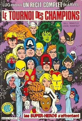 Marvel Super Hero Contest of Champions # 3 TPB Hardcover (1984 - 1988)