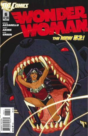 Wonder Woman # 6 Issues V4 - New 52 (2011 - 2016)
