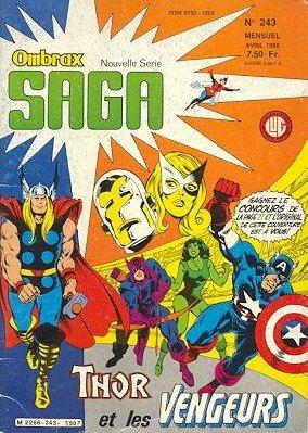 Ombrax Saga édition Kiosque (1986 - 1987)