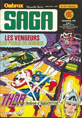 Ombrax Saga # 251 Kiosque (1986 - 1987)