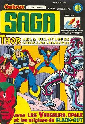 Ombrax Saga # 254 Kiosque (1986 - 1987)