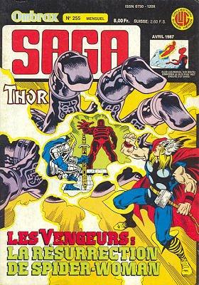 Ombrax Saga # 255 Kiosque (1986 - 1987)