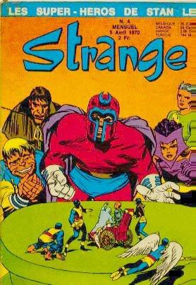 Uncanny X-Men # 4 Kiosque (1970 - 1988)