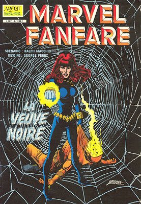 Marvel Fanfare édition Kiosque (1984 - 1985)