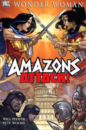 Wonder Woman - Amazons Attack édition TBP softcover (souple)
