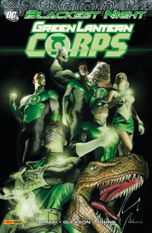 Blackest Night - Green Lantern Corps édition TPB Softcover (souple)