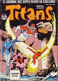 Titans édition Reliure éditeur Suite (1989 - 1997)
