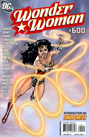 Wonder Woman # 600 Issues V3 suite (2010 - 2011)