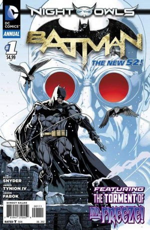 Batman # 1 Issues V2 - Annuals (2012 - 2014)