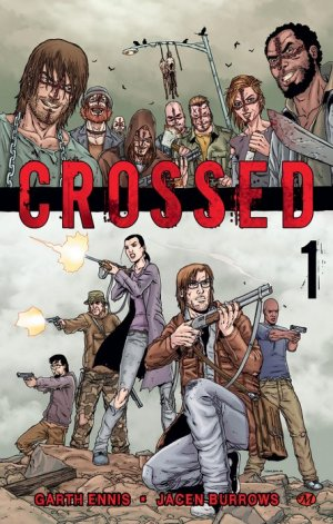 Crossed édition TPB softcover (souple)