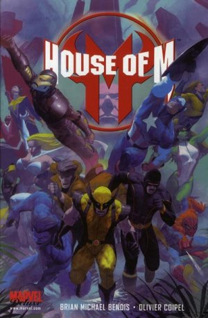 House of M édition TPB Hardcover - Marvel Deluxe - Issues V1