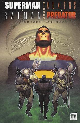 Superman & Batman VS Aliens & Predator