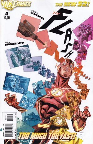 Flash 4 - 4 - cover #1