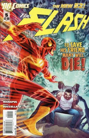 Flash 5 - 5 - cover #1