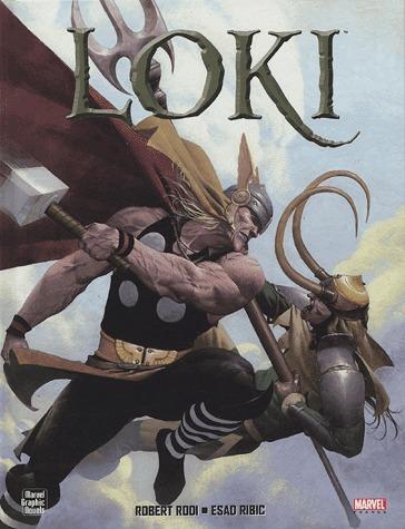 Loki édition TPB Hardcover (cartonnée)
