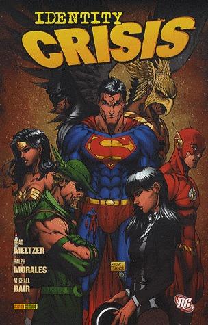 JLA - Crise d'Identité édition TPB Hardcover - DC Deluxe