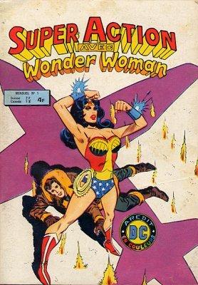Super Action avec Wonder Woman édition Kiosque (1979-1983)