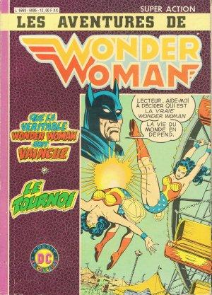 Super Action avec Wonder Woman édition Kiosque double (1983)