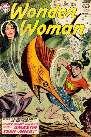 Wonder Woman # 107 Issues V1 (1942 - 1986)