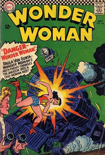 Wonder Woman # 163 Issues V1 (1942 - 1986)