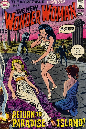 Wonder Woman # 183 Issues V1 (1942 - 1986)