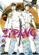 couverture, jaquette Zipang 3  (kana)