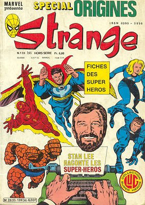 Strange Tales # 139 Kiosque (1981 - 1988)