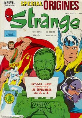 Strange Tales # 205 Kiosque (1981 - 1988)