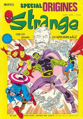 Strange Special Origines édition Kiosque (1989 - 1996)