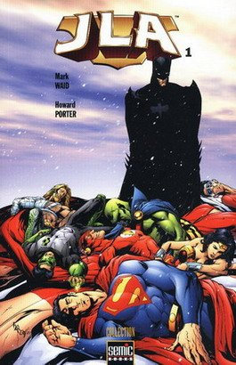 JLA édition TPB softcover (2004 - 2005)