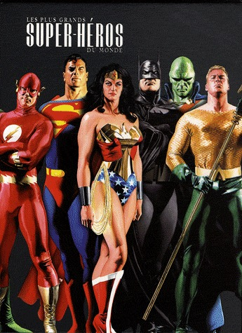 Justice League - Icônes  - Les plus grands super-héros du monde