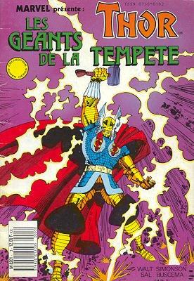 Thor édition Kiosque (1989 - 1993)